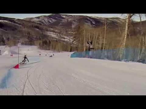Giant Slalom Traing Vail 2013 (GoPro)