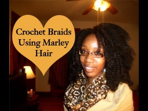 Crochet Marley Hair Youtube : How To: Crochet Braids Using Marley Hair (Requested) - YouTube