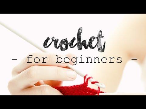 CROCHET FOR BEGINNERS | Lesson 1: Slipknot and Chains ♥ CROCHET LOVERS