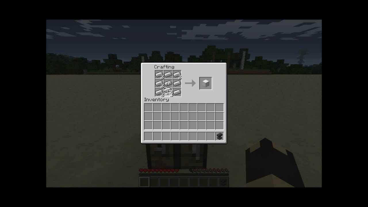 Crafting Anvil In Minecraft