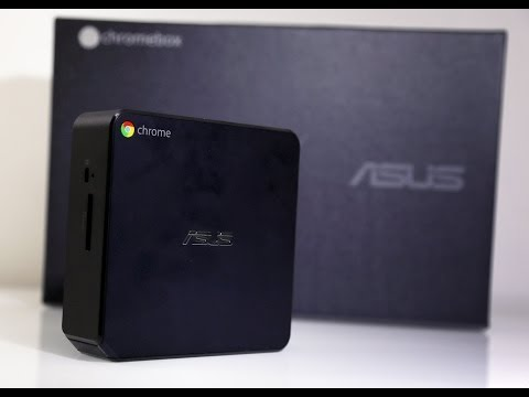 Asus Chromebox Unboxing and quick setup