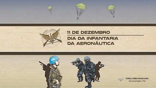 O Dia da Infantaria da Aeronáutica é celebrado em 11 de dezembro. Assista ao vídeo em homenagem aos integrantes da Aeronáutica, responsáveis pela execução de ações defensivas, ofensivas, especiais e de proteção, contribuindo para o cumprimento da nossa missão constitucional, preservando equipamentos, instalações e pessoal de interesse da Força Aérea Brasileira.
