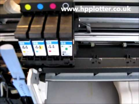 Designjet 430/450/488 Series - Correct Startup sequence on your printer