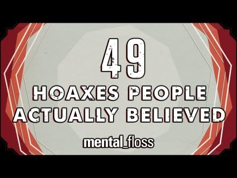 49 hoaxes people actually believed