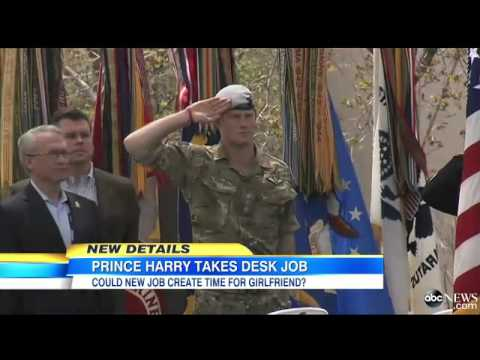 Prince Harry's New Job