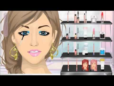 Avril Lavigne Black & Blue Makeup Tutorial - Stardoll