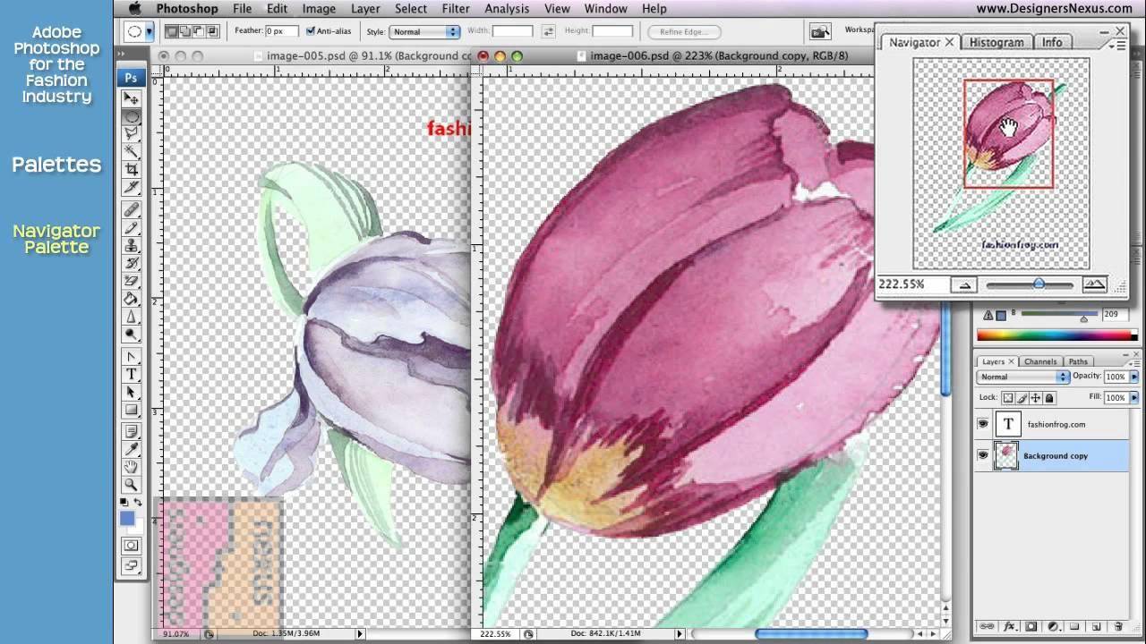 Photoshop Tutorial For Fashion Design 14 24 Palettes