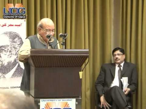 INTERNATIONAL SEMINAR ON CENTENNIAL CELEBRATION OF FAIZ AHMAD FAIZ (Part-10)