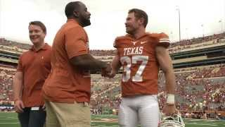 Texas Longhorns honor veterans [Dec. 9, 2013]