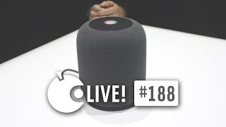 Apfeltalk LIVE! #188 - Hallo HomePod