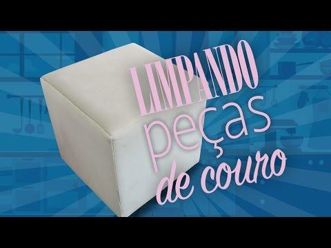 ESPONJA MÁGICA - Como limpar peças de couro