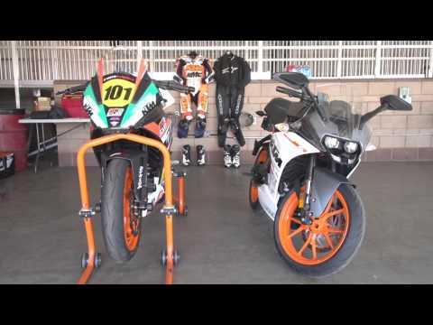 Racer X Films: KTM RC 390
