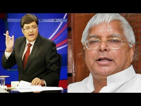 The Newshour Direct: Lalu Prasad Yadav (20th June 2014)