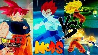 Goku Ssj Dios Vegeta Ssj Dios Dragon Ball Z Tenkaichi 3