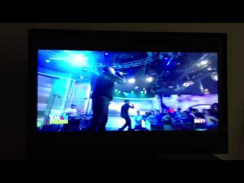 Lecrae on BET's 106 & Park. Performing