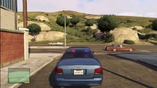 Grand Theft Auto 5 How To Get The RARE Unmarked Police