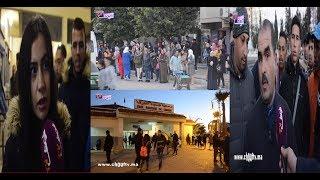 بالفيديو..على خطى باقي المدن المغربية..سائقو حافلات طنجة يشلون حركة السير |