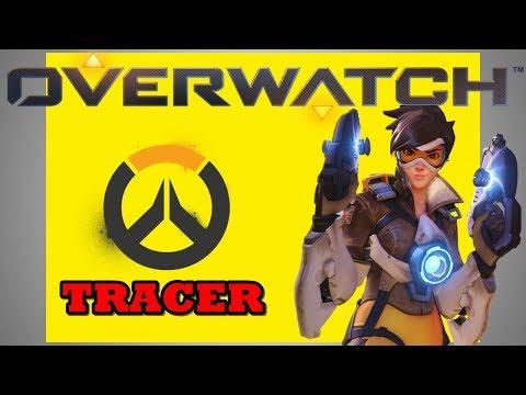 OVERWATCH - Tracer - DORADO - PS4 (Gameplay)