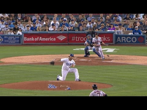 Kershaw robs Hudson with behind-the-back snag