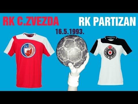 RK Crvena Zvezda – RK Partizan (1993. godina)