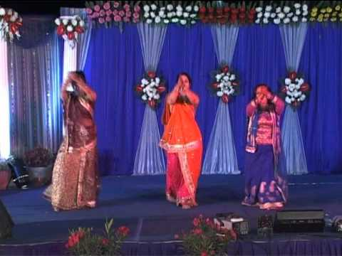 Mahila sangeet performance