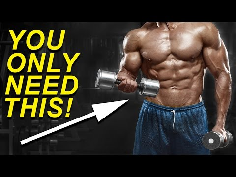 21 Min Full Body Workout With Dumbbells (BUILD MUSCLE EASILY)