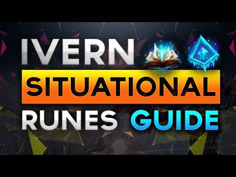 Ivern Situational Runes Guide for Ranked Season 8