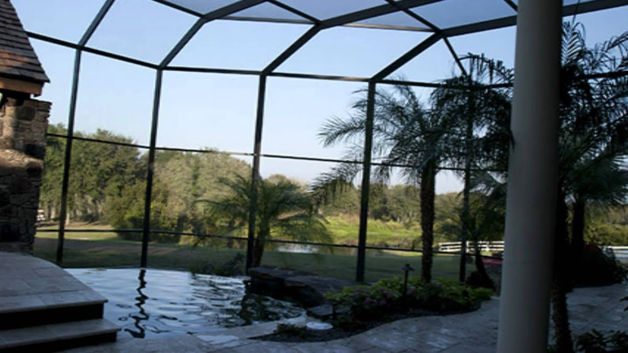 Formal landscape for Pool designs florida