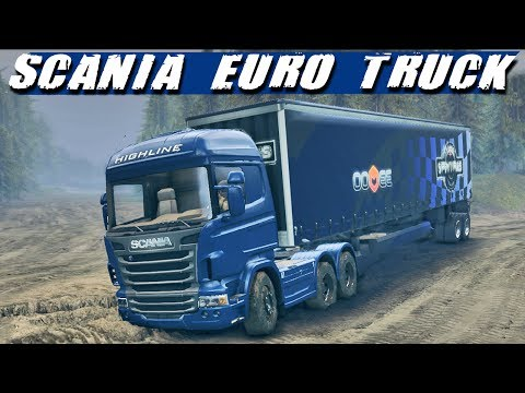 Spin Tires - Caminhão Scania