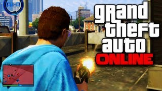 "GTA ONLINE Gameplay - ""EPIC DEATH MATCH!"" - (GTA 5 Multiplayer Grand Theft Auto V)"