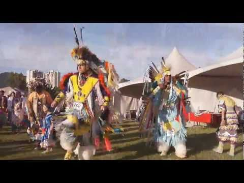Squamish Nation Pow Wow 2011 FULL REGALIA First Nations Native Dance in Vancouver