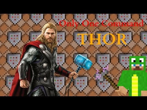 Thor Only One Command 1.11 and 1.10 - Minecraft