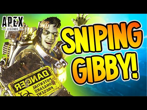 THE SNIPING GIBBY! (Console Apex Legends)