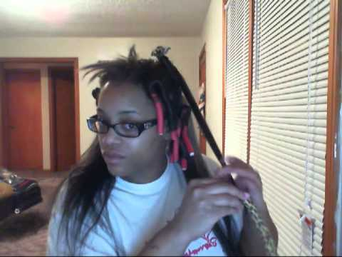 Crochet Braids With Xpressions Kanekalon Hair : How to curl kanekalon crochet braids - YouTube