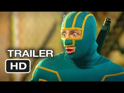 Kick-Ass 2 Official Theatrical Trailer #2 (2013) - Chloe Moretz Movie HD, New trailer for the eagerly anticipated sequel to Kick-Ass. Kick-Ass and Hit Girl are back to take on the bad guys, but this time they've got a little help from their masked friends like Jim Carrey.