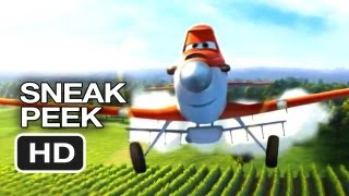 Planes Official Sneak Peek (2013) - Dane Cook Disney Animated Movie HD