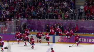 Canada Wins Gold In Men's Hockey Sochi 2014 Olympics