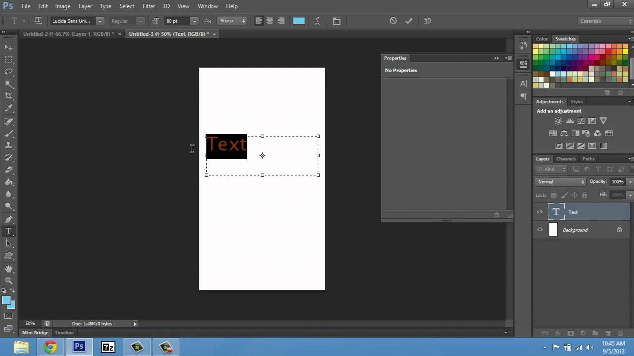 How to Make Fonts Bigger on Photoshop CS4 : Adobe Photoshop Tips ...