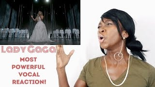 REACTION to Lady Gaga Most Powerful Vocals