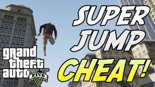 GTA 5: SUPER JUMP! Cheat Code TUTORIAL (Xbox 360