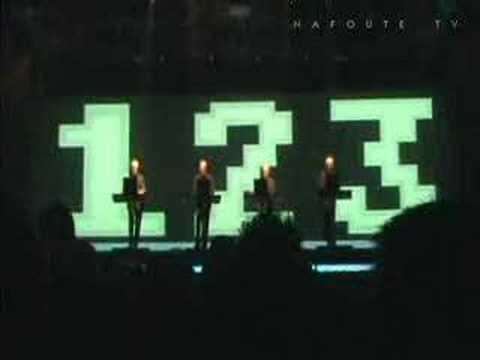"Kraftwerk ""Numbers/ComputerWelt"" Zaragoza 20061111"