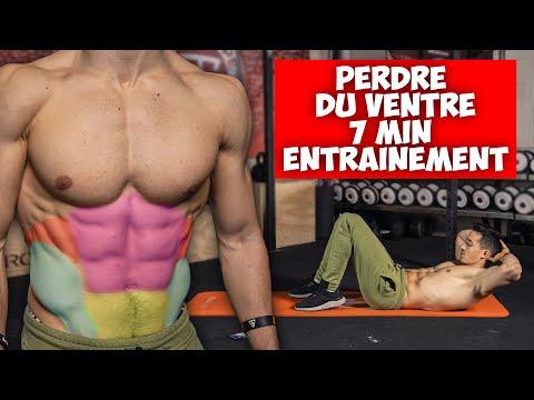 Perdre du ventre en 7minutes d'exercices !