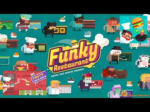Funky Restaurant - Arcade Food Serving Manager - Gameplay Trailer  (Android)