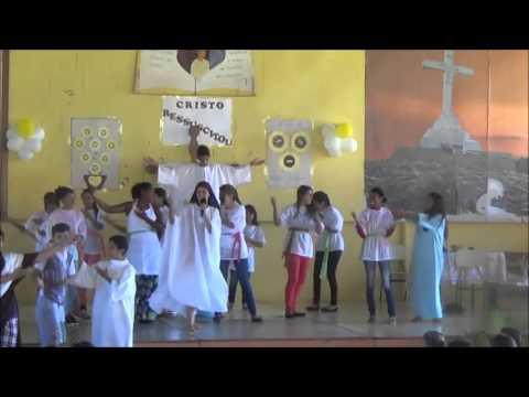 Apresentação de Páscoa crianças Projeto Autonomia