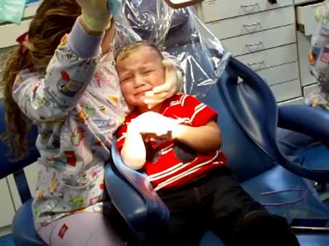 Adrian's first visit to the dentist