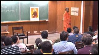 Facing Real Life Challenges- Swami Narasimhananda at IIT Kanpur