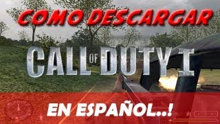 Descargar Call of Duty 1 para pc (En español)