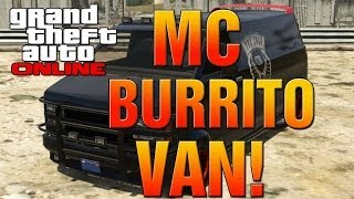 GTA 5 Online How To Find The Secret Lost MC Burrito Van