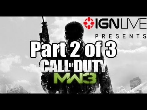 Modern Warfare 3: IGN  Exclusive Livestream (Part 2/3) [HD]