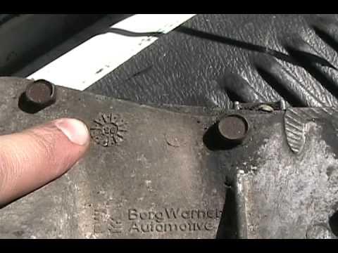 Identify T5 Borg Warner